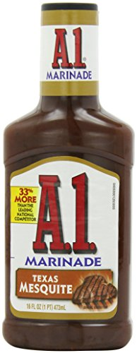 A.1. Texas Mesquite Marinade (16 oz Bottle) more tools