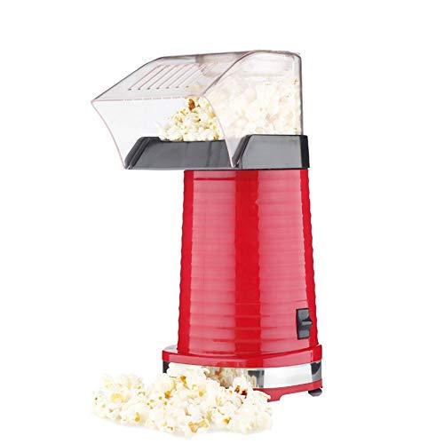 AZCSPFALB Máquina de Palomitas Mini Aire Caliente Sin Sin Grasa y Saludable Silencioso y Rápido, Maquina Palomitas de Maiz para Oficina Sala de Estar Dormitorio o Exterior - 1200W