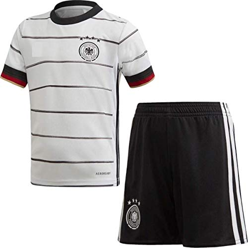 GOLDEN FASHION Germany Home KIT Football Jersey 2021-22 for Men Women Unisex White Color (Large)