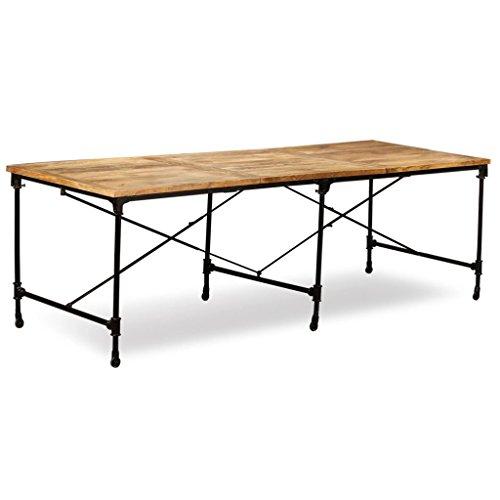 N/O Viel Spaß beim Einkaufen mit Esstisch Mangoholz Massiv 240 cm