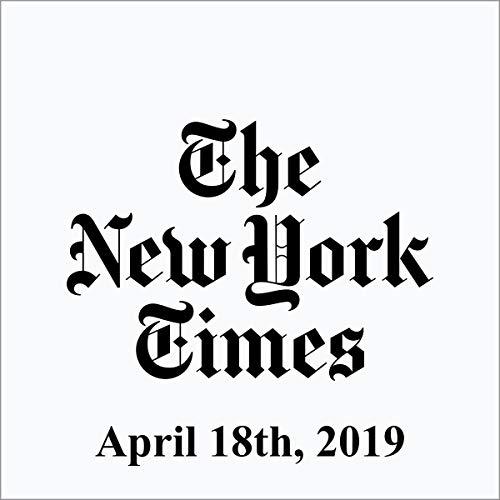 April 18, 2019 copertina