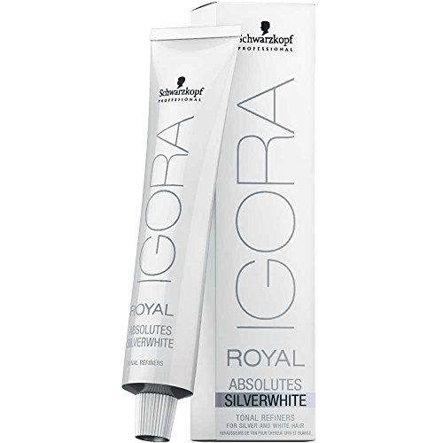 Schwarzkopf Professional Igora Royal Absolutes Silverwhite Grey Lilac - 60 ml (4045787320091)