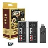 PW TOOLS Controlador inalámbrico para NES, Mini Consola de Juegos Retro clásica, Videojuegos...