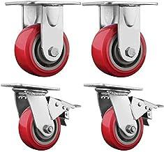 Bewegende zwenkwielen Bureaustoel zwenkwielen Vaste zwenkwielen voor machines Elektrische apparaten Meubilair ect Maatnaa...
