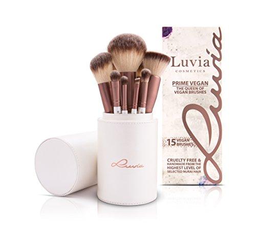Pinselset Make Up Von Luvia, Beauty Brush-Set Prime Vegan, Besonders Weich & Sanft Zur Haut,...