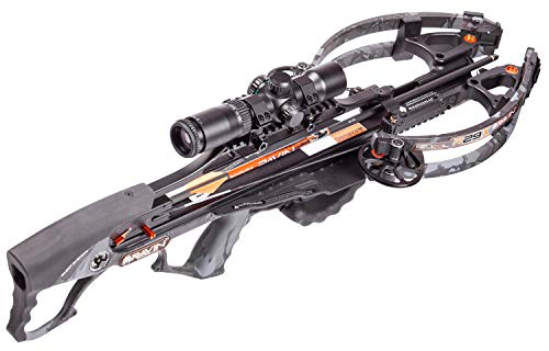 Ravin R29X Predator Crossbow Package R040 With HeliCoil Technology And Silent Cocking System, Predator Dusk Camo