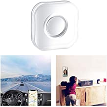 Nano Gel Pad Traceless Magic Stickers,Washable Multi-Functional Universal Sticky Car Phone Holder,Application for Car,Home,Office Storage of Various Small Device and Items (Round)