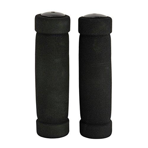 fischer Unisex_Adult Soft Bicycle Handlebar Grips, Black, standard size
