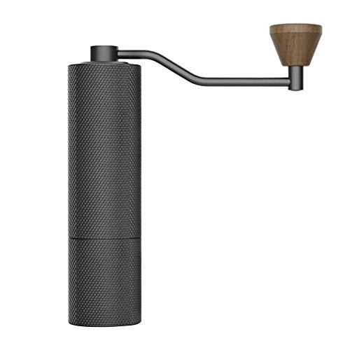 TIMEMOREタイムモア Slim Plus手挽きコーヒーミル コーヒーグラインダー ステンレス臼 ハンドドリップとエスプレッソ兼用臼 手動 コンパクト 均一 省力 容量20g 粗さ36段階調節 アウトドア キャンプ