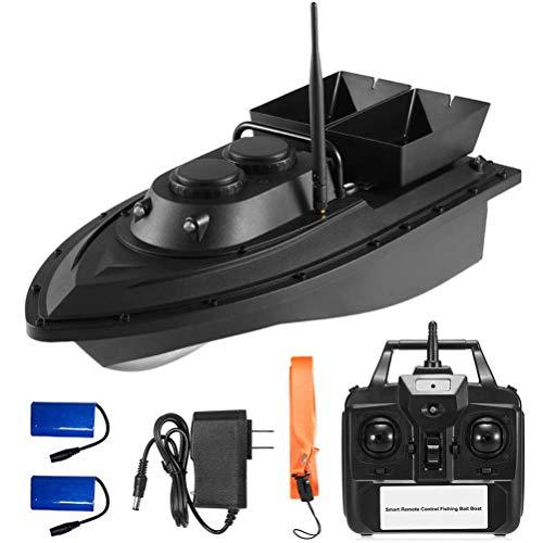 400-500 m, 2,4 GHz, gran capacidad, resistente al agua, control remoto con doble motor, mando a distancia Berkalash Fischfinder Barco de pesca
