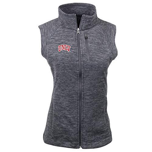 Ouray Sportswear NCAA Damen Guide Vest, Damen, Women's Guide Vest, Charcoal Heather, Small