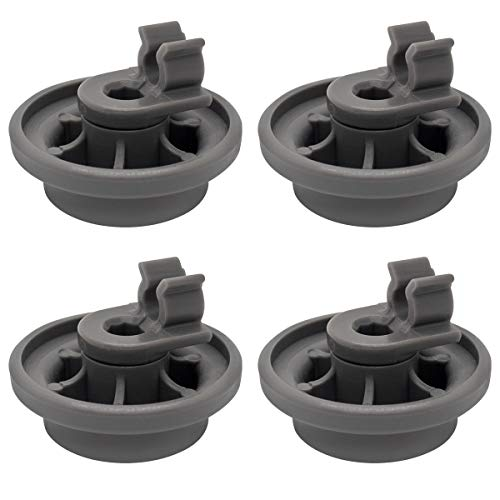 Sikawai 4581DD3003B Dishwasher Lower Dishrack Roller Assembly Repalcement for LG Replaces 4502960 AP6231149 PS12075858-4 Packs