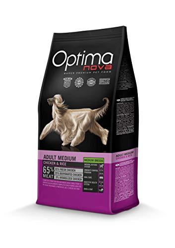Optima Nova - Pienso para perros adultos medianos pollo y arroz