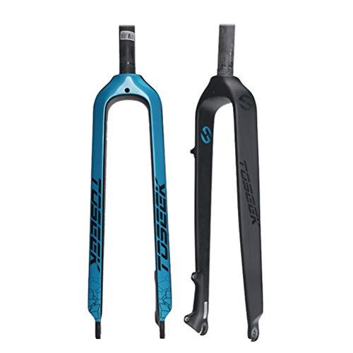Mountainbike Fahrradgabel 26 27.5 29 Inch Ultraleicht Carbon Fiber Starrgabel Suspension MTB Gabel Fahrrad Scheibenbremse
