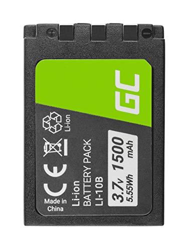 Green Cell® Li-10B Li-12B Batería para Olympus Camedia C-50 C-60 C-70 C-470...
