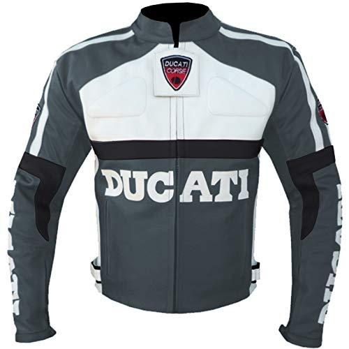 DUCATI 3039 - CHAQUETA DE PIEL PARA MOTO