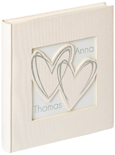 Walther UH-128 Hochzeitsalbum with All My Heart, 28 x 30.5 cm