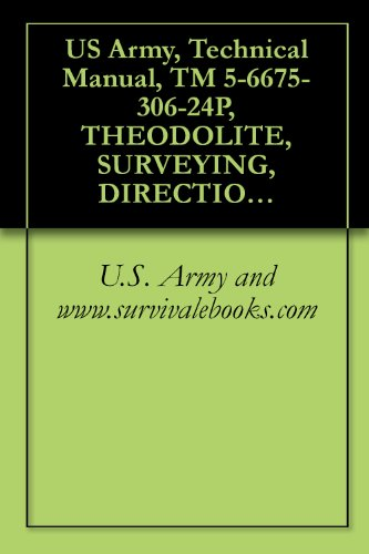 US Army, Technical Manual, TM 5-6675-306-24P, THEODOLITE, SURVEYING, DIRECTIONAL, NSN 6675-00-334-5 (English Edition)