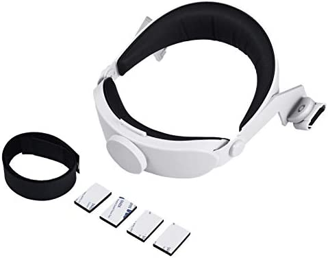 Bitcircuit Adjustable Head Strap for Oculus Quest 2 VR Headset Reduce Head Pressure Comfortable product image