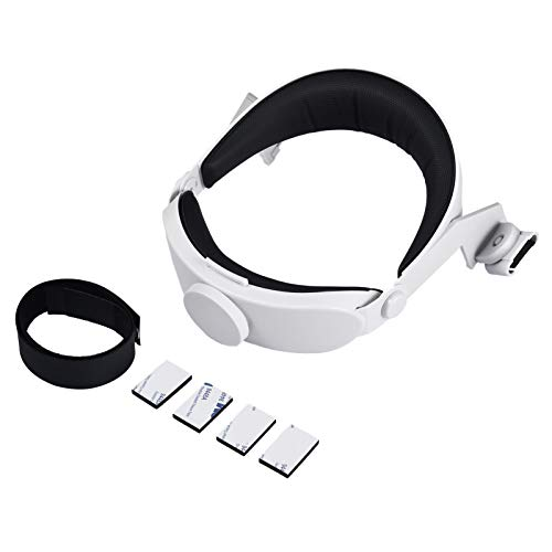 A/B Head Strap for Oculus Quest 2 VR, Adjustable and Replaceable VR Headset Headwear Replacement Reduce Head Pressure Headband for Oculus Quest 2