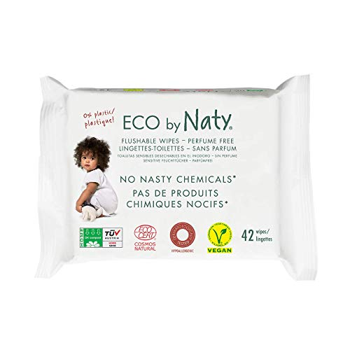 top rated Eco-Vinity Flash Baby Wipe 504 (12 packs of 42), a plant-based wipe that can be composted.  0% … 2020