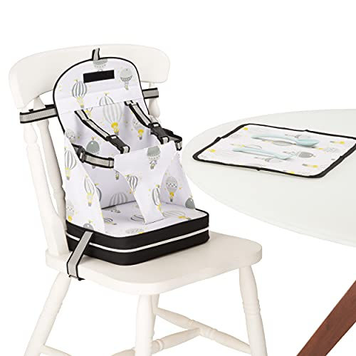 Polar Gear Baby Travel Booster Chair – Portable Seat with 5 Point...