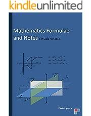 Mathematics Formulae and Notes: Class XI (CBSE)