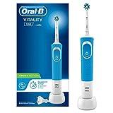 Oral-B Vitality 100 Cepillo Eléctrico Recargable con Tecnología de Braun, 1Mango Azul, 1Cabezal de Recambio CrossAction