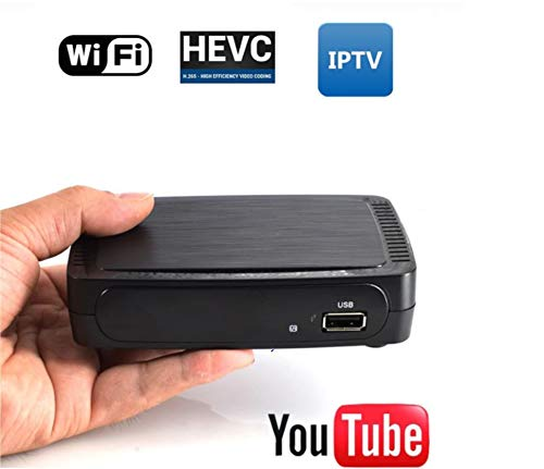 DrPhone® BraveII - TV Ontvanger Satelliet Internet Digitale Set Top Box Iptv Ontvanger Decoder TV BOX - Zwart