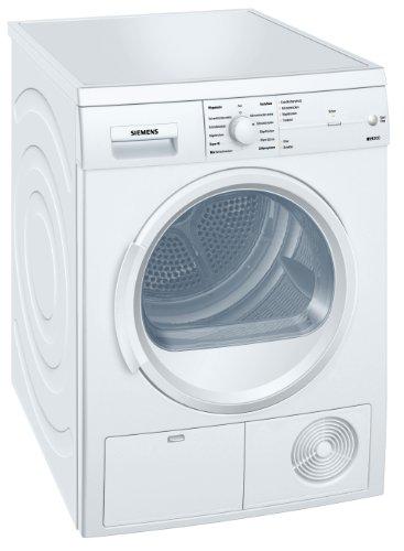 Siemens iQ300 WT46E1K3 Kondenstrockner / B / 7 kg / 3.92 kWh / weiß / TouchControl-Tasten / Knitterschutz