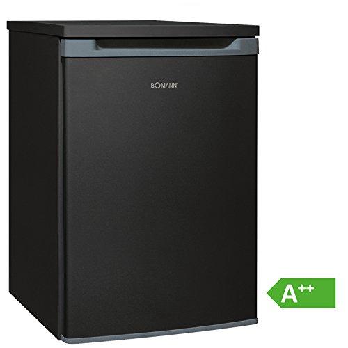 Bomann VS 354 Vollraumkühlschrank EEK A++, 130 L, HxBxT: 86x55x56,8 cm, 88 kWh/Jahr, Türanschlag wechselbar, stufenlose Temperatureinstellung, Abtauautomatik,