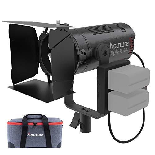 Aputure Light Storm 60x, 60W Bi-Color Adjustable LED Video Light, CRI 95+ TLCI 95+...