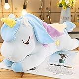 Peluche 40cm Kawaii Unicornio de Peluche de Juguete muñeca de Peluche para niñas cumpleaños Almohadas para niños decoración del hogar