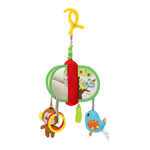 Tabpole Hängende Rassel für Neugeborene, Kinderwagen, Spielzeug, Baby-Krippe mit Musik, Mobile Säugling, sensorische Rassel, Kinderzimmerspielzeug