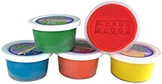 Aroma Dough Gluten-Free, Soy-Free, Play Dough for Kids, Eco Friendly Playdough Set (5 Pack) , All Natural Aromas! Back to SCHOO Supplies