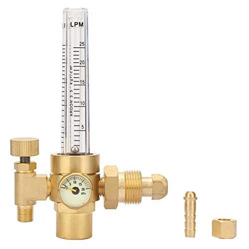 Medidor de flujo de CO2 Regulador de medidor de flujo Cobre Argón CO2 Mig Tig Medidor de flujo Soldador Regulador de soldadura Manómetro Soldador de gas G5/8 CGA580