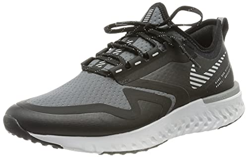 Nike Odyssey React 2 Shield, Scarpe da Running Donna, Nero (Black/Metallic Silver-Cool Gre 003), 39 EU