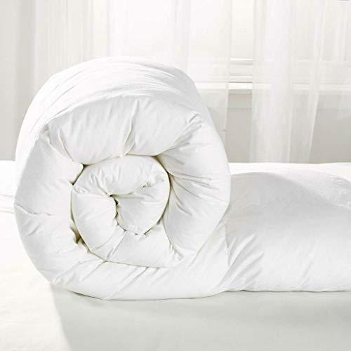 All Season Hollow fibre 7.5 Tog Duvet Quilt Cosy Anti Allergy Machine Washable (Cot Bed)