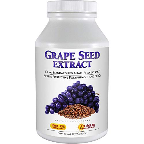 Andrew Lessman Grape Seed Extract 360 Capsules – 100 mg Standardized Extract, Anti-oxidant,...