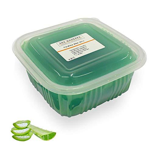 ANA MANDARA - Paraffina di Aloe Vera e Tè Verde 500 ml || Trattamento alla paraffina per mani e piedi. 500 millilitri (350 gr).