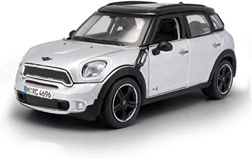 Modelo de coche 1:24 modelos del molde del dado knight rider del metal del modelo del juguete del coche modelo de simulación 16x8x6cm aleación del coche (Color: Azul) (Color: Azul) (Color: Plata) Zixi