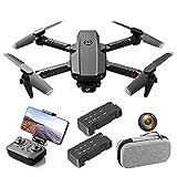 PAKUES-QO Drone para Adultos con Cámara 4K, Video En Vivo 5G FPV para Principiantes, Cuadricóptero RC Plegable con Cámaras Simples/Duales, Incluye Bolsa De Transporte Individual-2