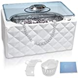 Compact Ultrasonic Jewelry Cleaner | Great for Eyeglasses Retainers...