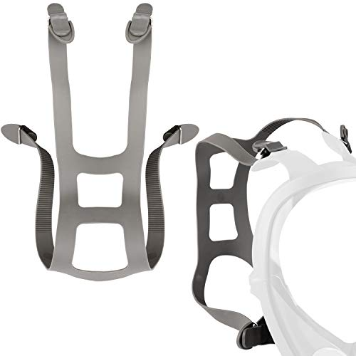 Impresa 2 Pack Head Harness Strap, Compatible with 3M Full Facepieces 6000 Series - 51131370055, Industrial Respirator Replacement Straps, Size 6897/37005(AAD)