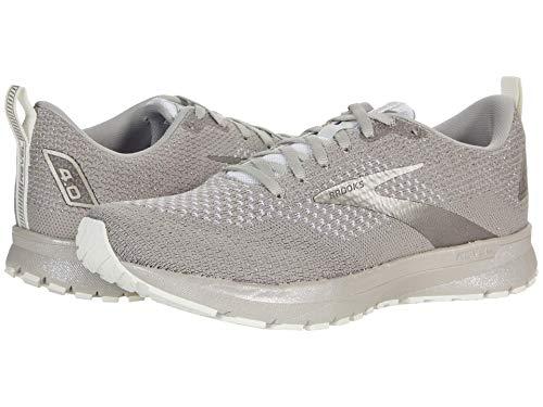 Brooks Revel 4 White/Paloma/Silver 9.5 B (M)