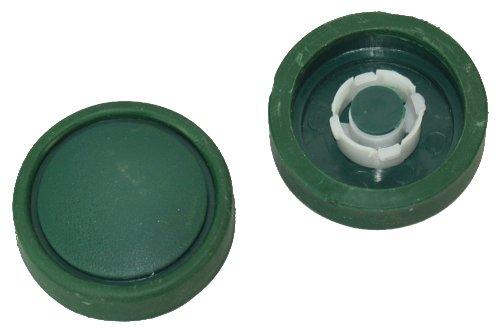 Aresgo - Ruote di ricambio compatibili con Folletto HD35 FS (spazzola per pavimenti), 2 pezzi