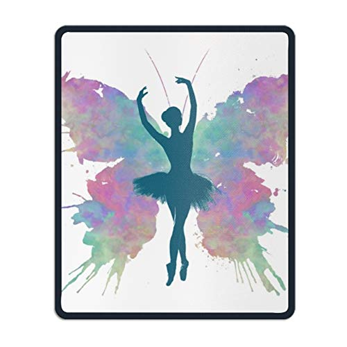 Ballerina Butterfly Customized Non-Slip Rubber Mousepad Gaming Office Mouse Pad