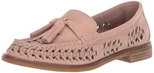 Sperry Top-Sider Women's Seaport Penny Plushwave Woven Leather Loafer