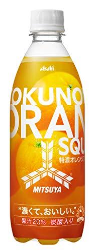「三ツ矢」特濃オレンジスカッシュ 500ml ×24本