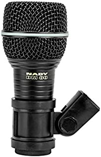 Nady DM-80 Drum Microphone - Enhanced low frequency response for kick drums